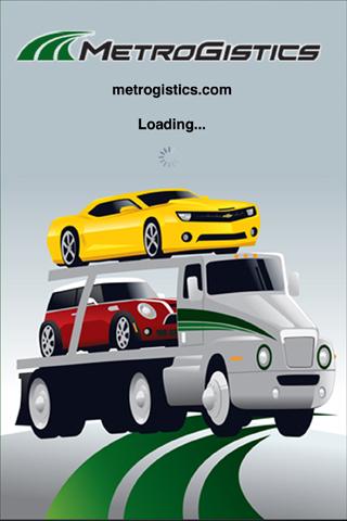 MetroGistics iPhone App