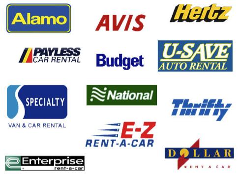 Rental Car Accounts